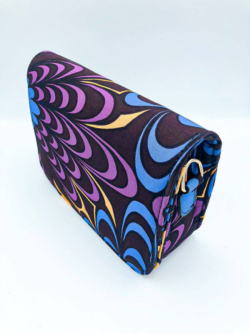Box Purse - Purple back - [shop-name]