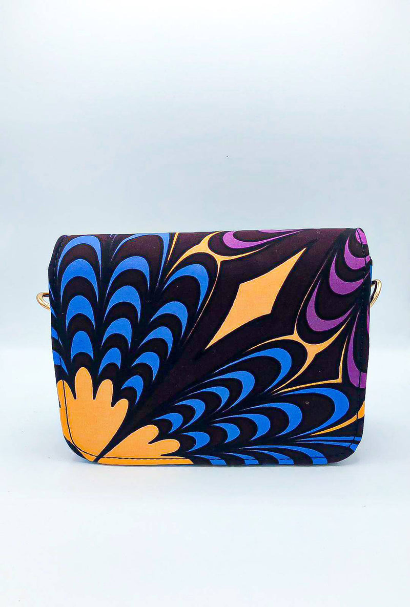 Box Purse - Purple - [shop-name]