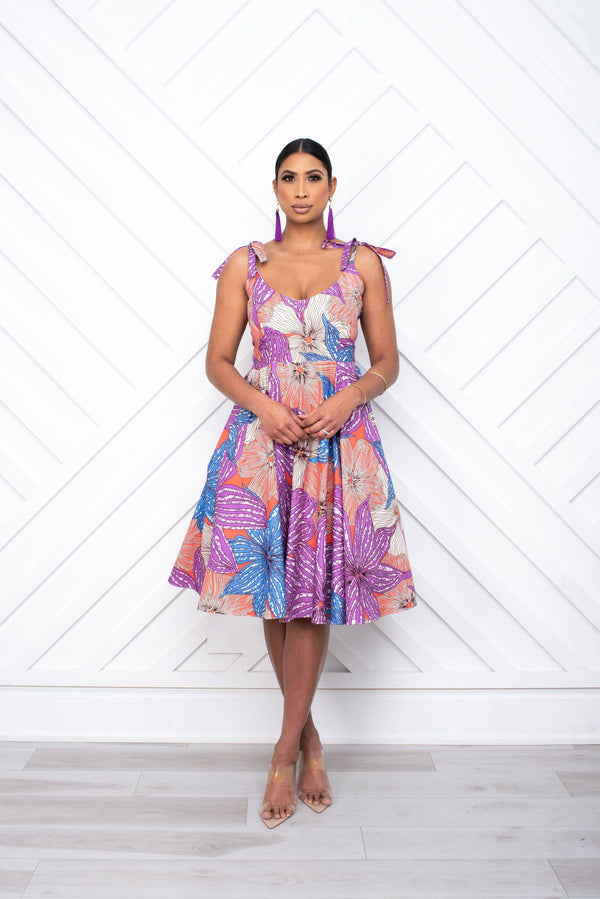 Bahira Floral Dress front