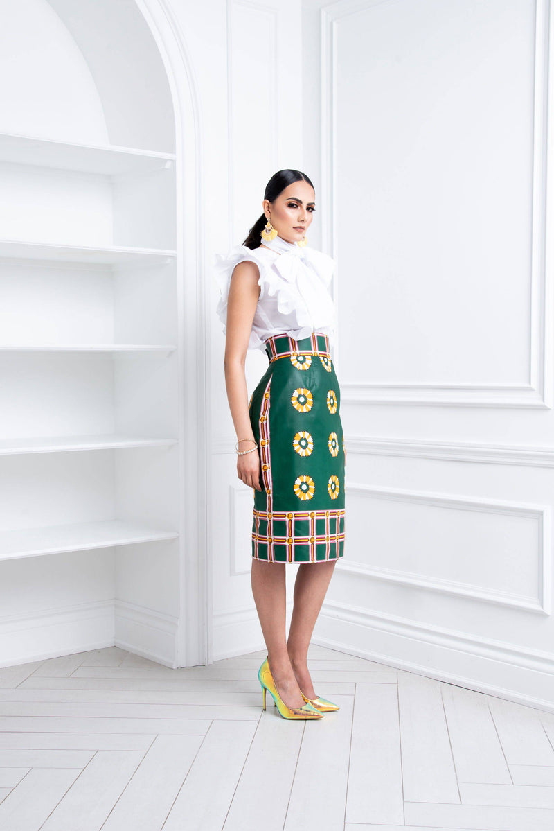 Adina Skirt side
