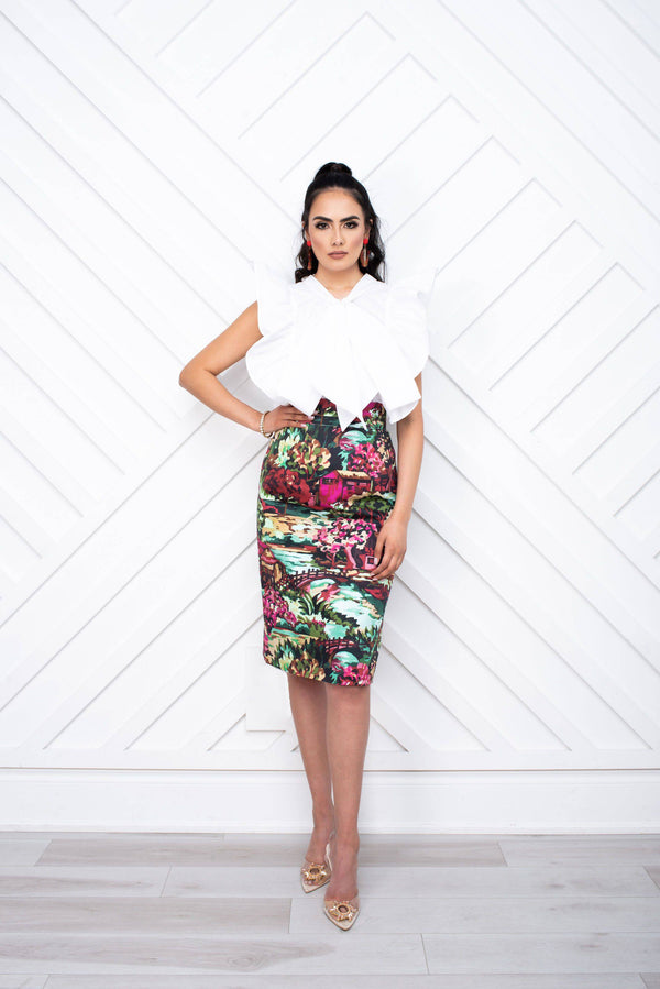 Carmella Pencil Skirt - [shop-name]