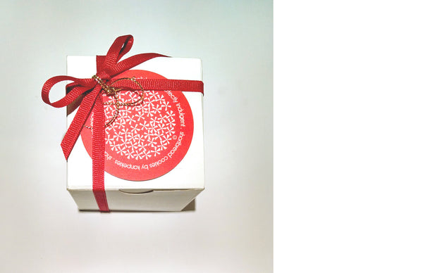 L'il Holiday Red n White Box - 5 Box SPecial - Vanilla