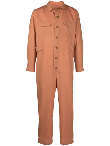 Blaze Jumpsuit Orange