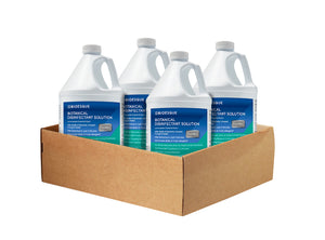 4 gallon case of Bioesque Botanical Disinfectant Solution
