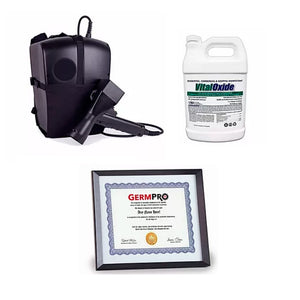 EMist 360 Disinfectant Backpack Sprayer Kit