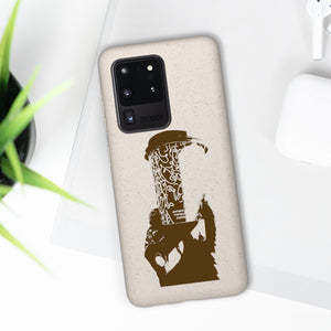 Coffee is a drug - Biodegradable Phone Case
