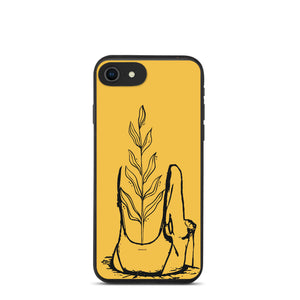 Patiently Blooming - Biodegradable phone case