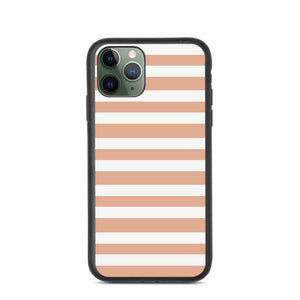 Beach Towel - Peach - Biodegradable phone case