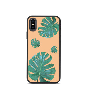 Monstera -  Biodegradable phone case