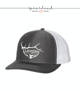 Richardson 112 - Snapback Trucker Cap - charcoal