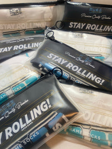 Stay Rolling - Bamboo frame socks