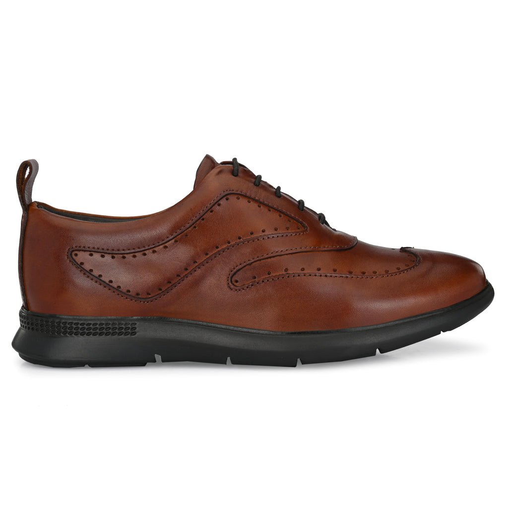 Legwork Classico Dark Tan Full Grain Leather Sneaker