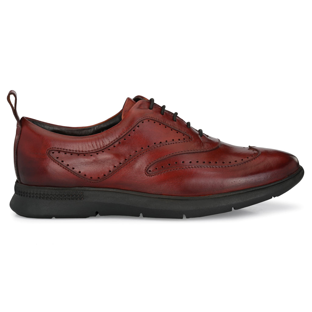 Legwork Classico Cognac Full Grain Leather Sneaker