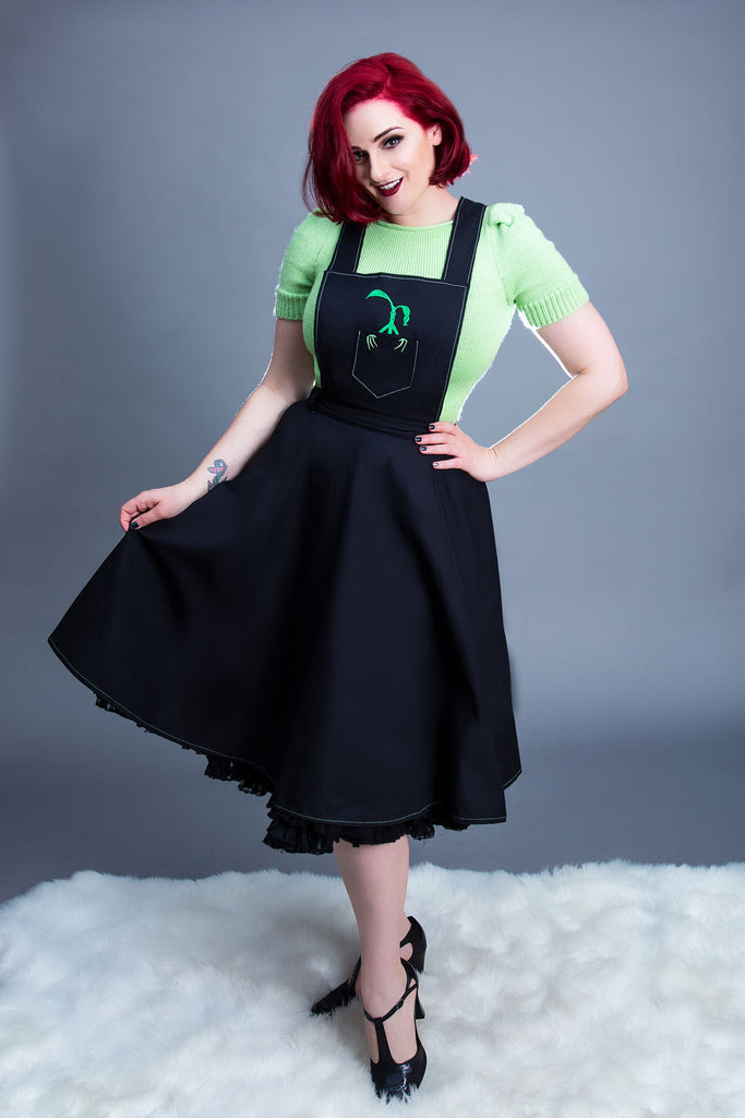 Bowtruckle Pinafore Dress