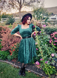 Gertie Dress in Evergreen
