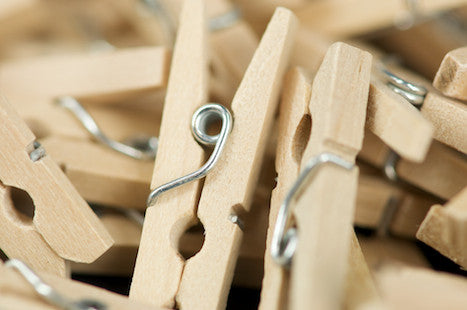 Natural Wooden Pegs 25mm