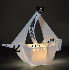 Pirate Ship LED Lamp