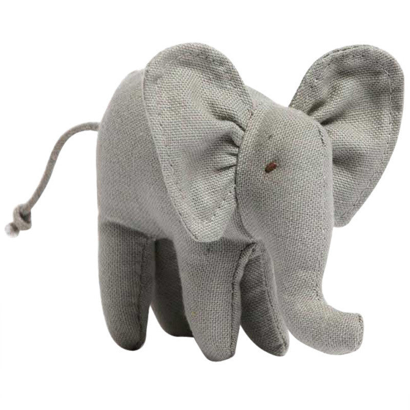 Mini Baby Elephant Rattle