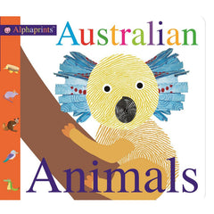Australian Animals Alphaprints