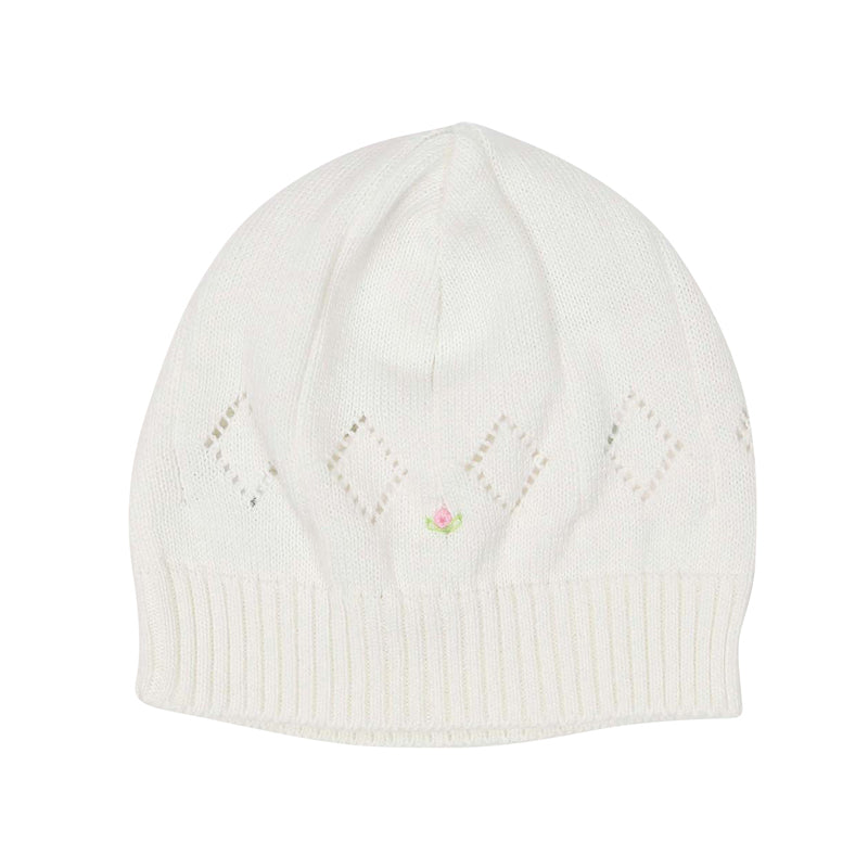 Korango Timeless Hand Embroidered Knit Beanie