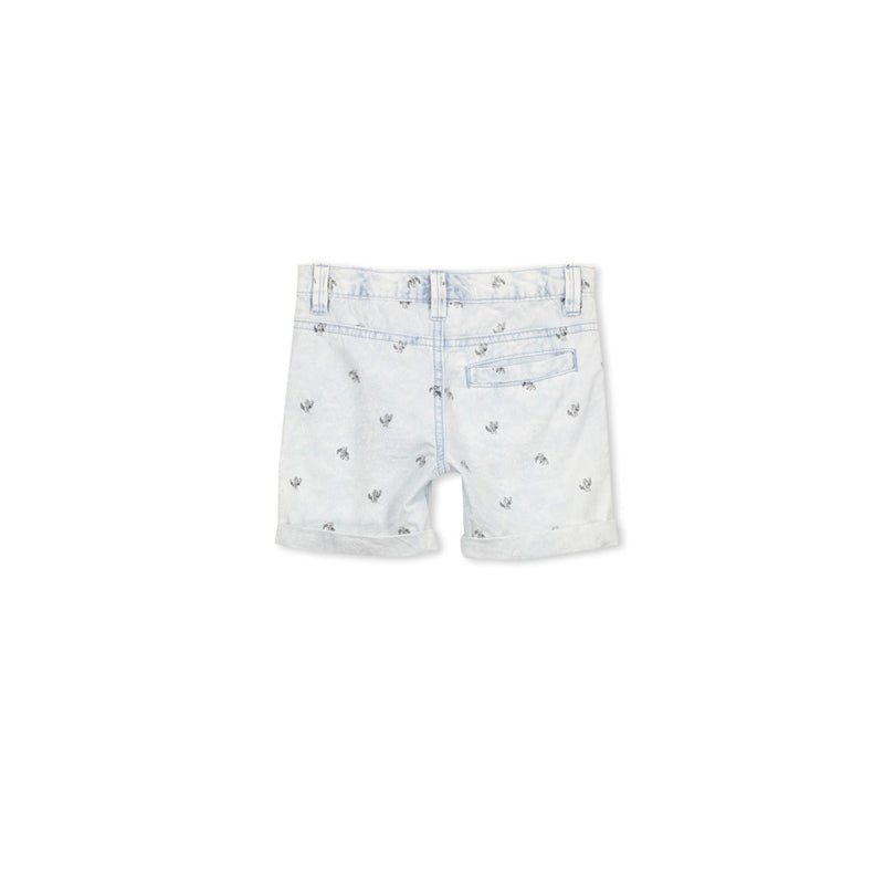 Milky Chambray Short