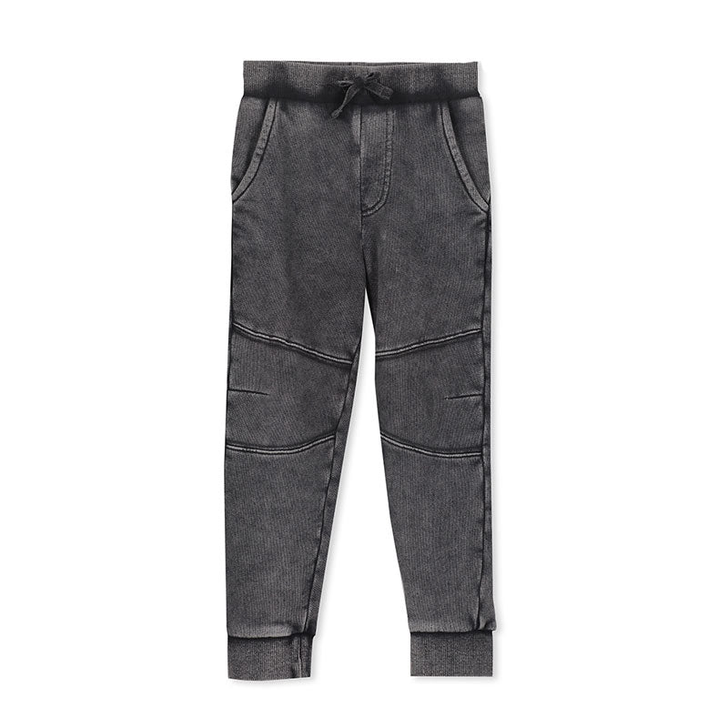 Milky Charcoal Track Pant