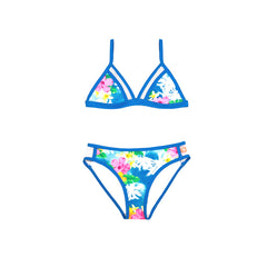 Salty Ink Designs Coco Palms Tropical Tri Bikini