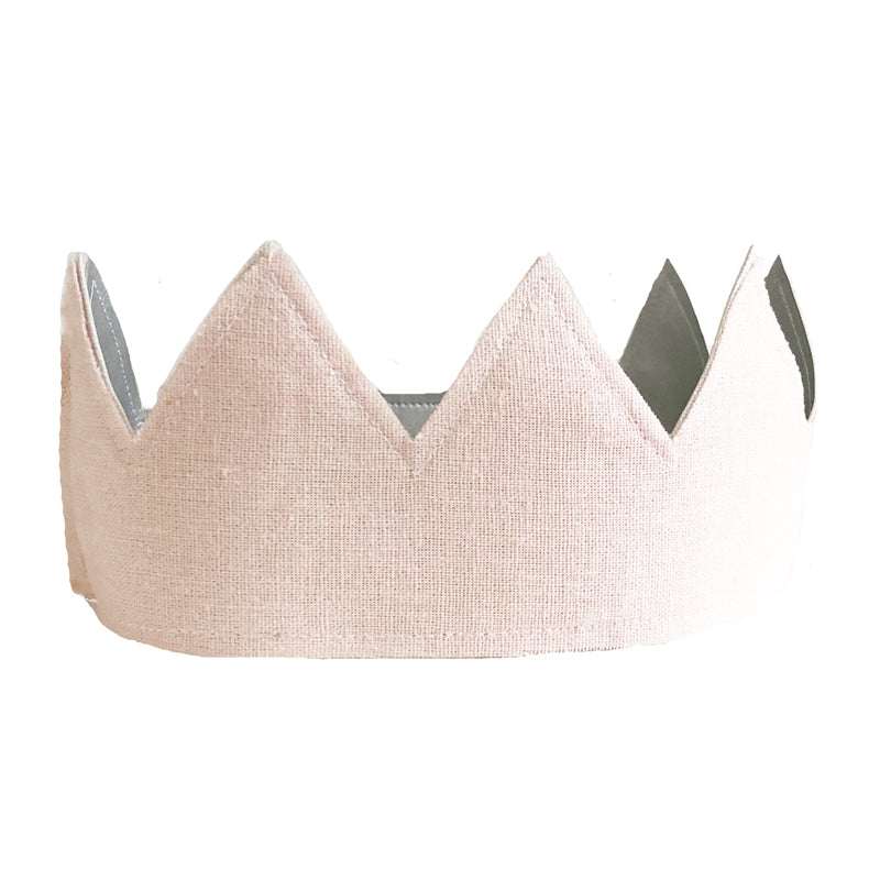 Alimrose Fabric Crown Pink and Silver