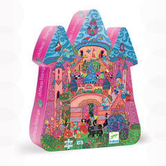 Djeco Silhouette Puzzle - The Fairy Castle 54 piece