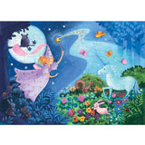 Djeco Silhouette Puzzle - Fairy And Unicorn 36 piece