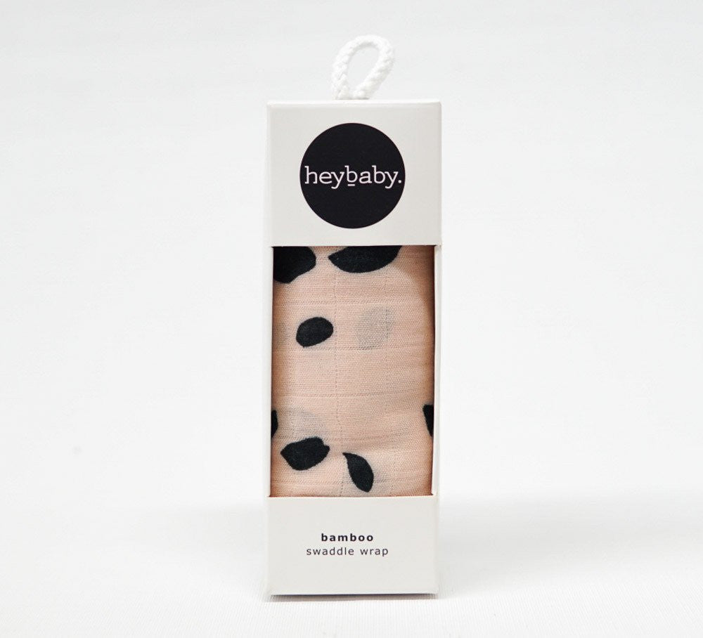 heybaby Cheeting Blush Bamboo Wrap