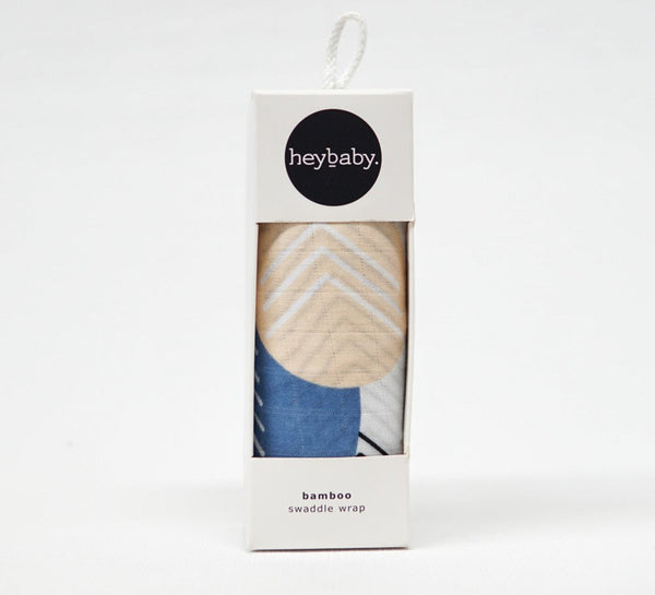 heybaby Moodsy Sand 100% Bamboo Swaddle Wrap