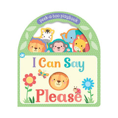 Little Me I Can Say Please board book