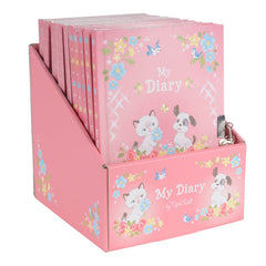 Tiger Tribe Lockable Diary - Kittens and Puppies