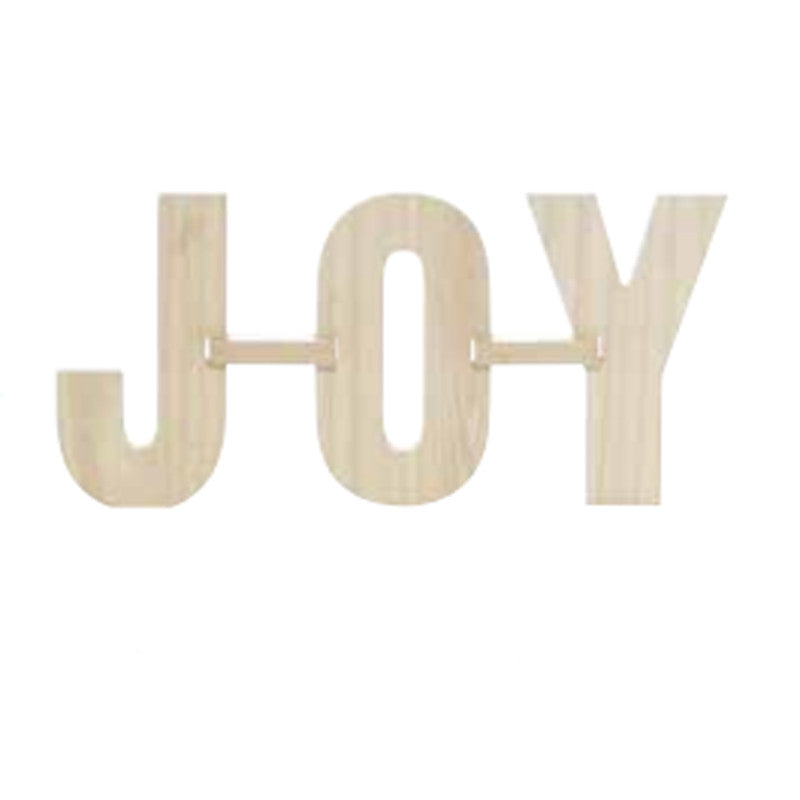 MDF Interlock Letters 'Joy'