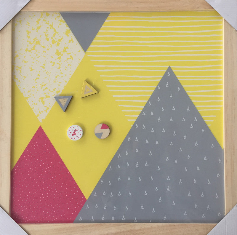 Magnet Board - Yellow
