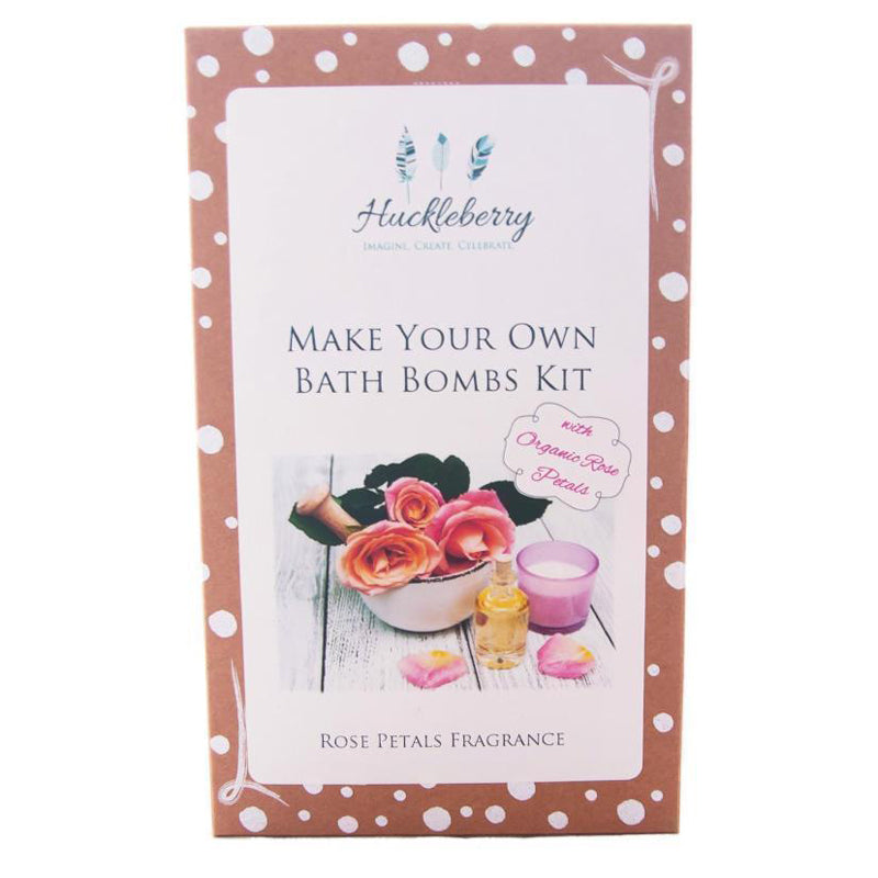 Huckleberry Make your Own Bath Bombs Kit