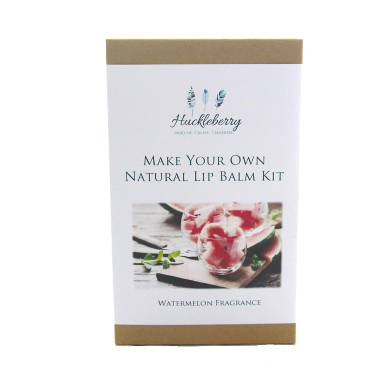 Make your own natural lip balm kit