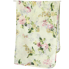 Toshi Muslin Wrap - Floral Mint