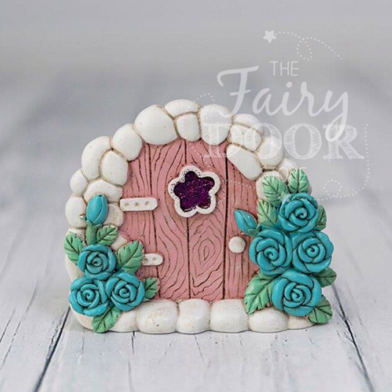 The Fairy Door Store, Pale Pink Resin Magical Fairy Door