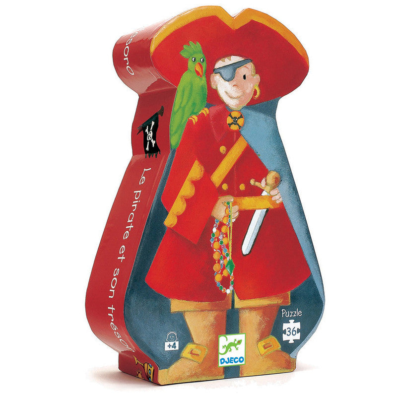 Djeco Pirate Puzzle - 36 piece