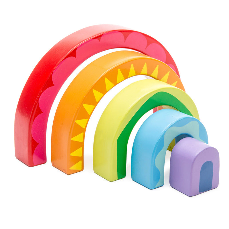 Le Toy Van Rainbow Tunnel Toy