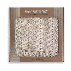 OB Designs Ripple Blanket Natural