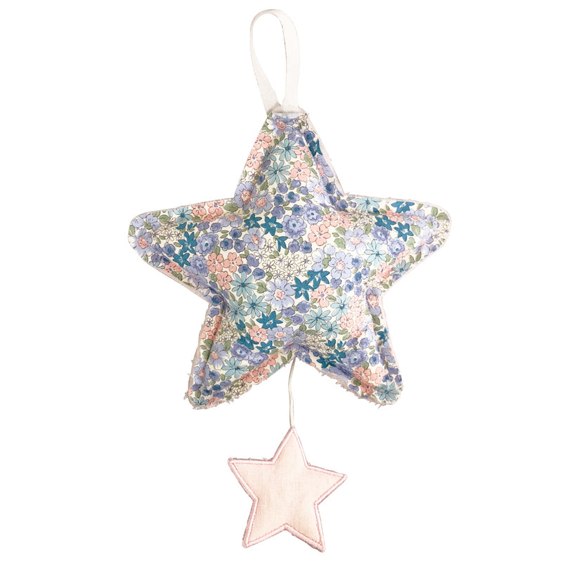 Star Musical - Pink Linen & Liberty Blue