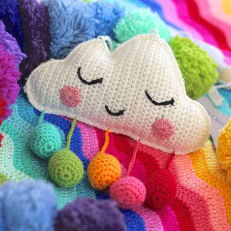 Sweet Dreams Cloud Mobile - Rainbow