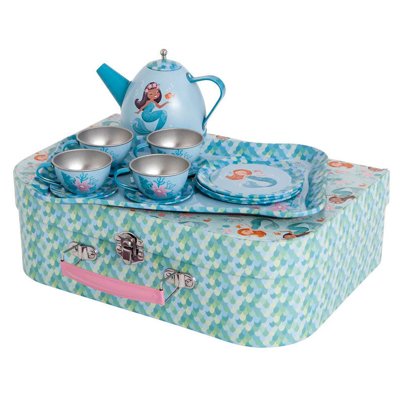 Tiger Tribe Vintage Tea Set