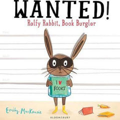 Wanted: Ralfy Rabbit, Book Burglar!