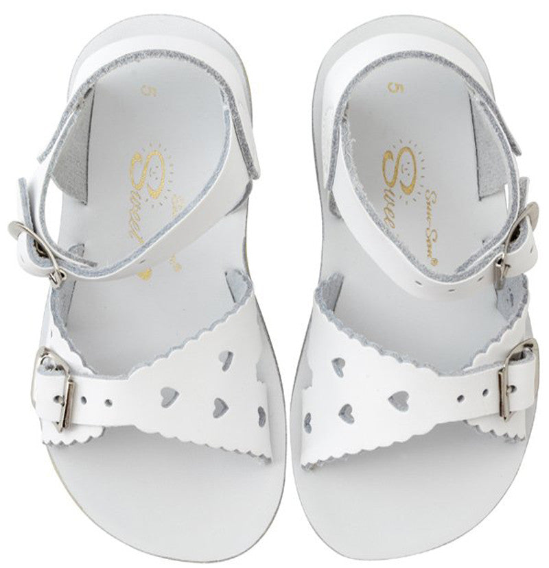 Salt Water Sandals Sun-San Sweetheart - White