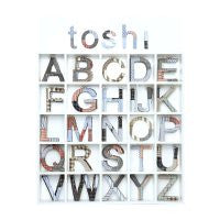 Toshi Fabric Covered Letters