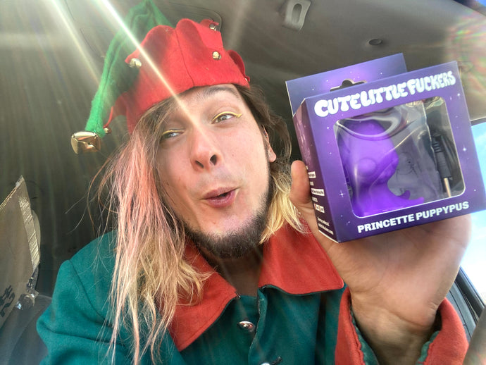I'm a Sex Toy Delivery Elf!
